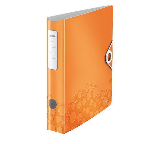 Pákový pořadač Leitz 350, oranžový