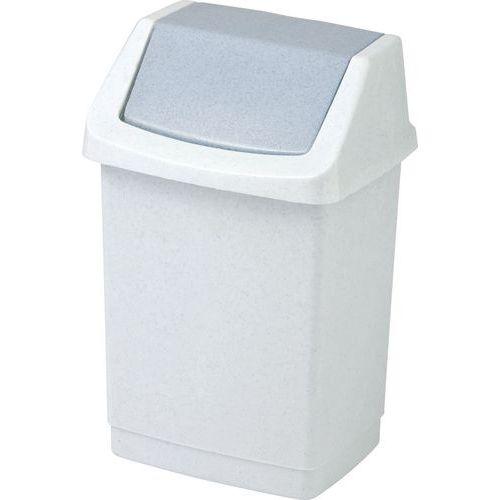 Plastový odpadkový koš Simple, objem 50 l