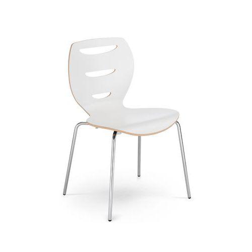 Konferenční židle Alani, bílé lamino