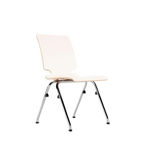 Konferenční židle Axo 100, bílé lamino