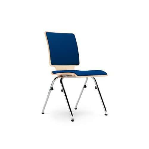 Konferenční židle Axo 102, modrá