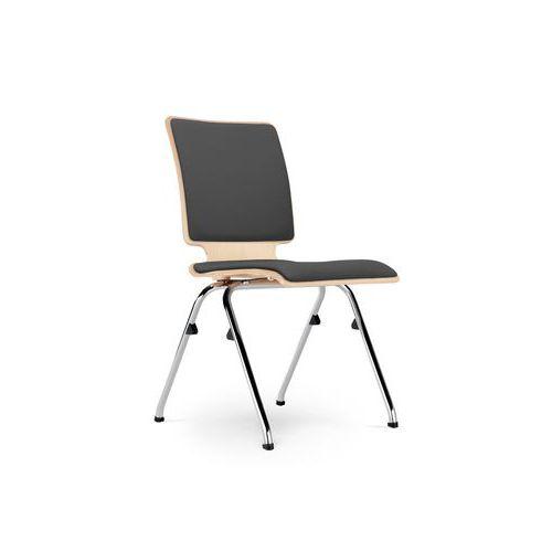Konferenční židle Axo 102, šedá