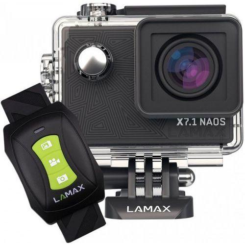 Digitální kamera 4K LAMAX X7.1 Naos + LAMAX Beat Sphere SP