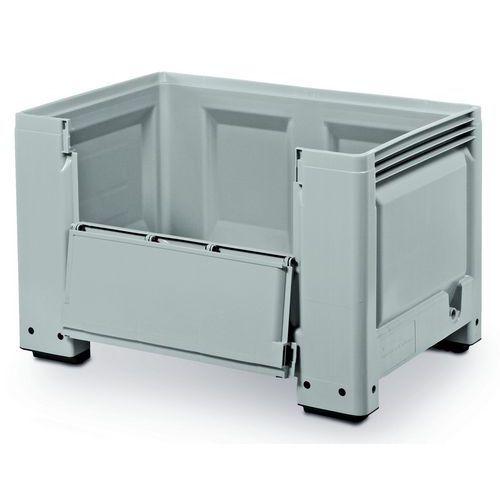 Paletový kontejner s bočním otevíráním, 480 l