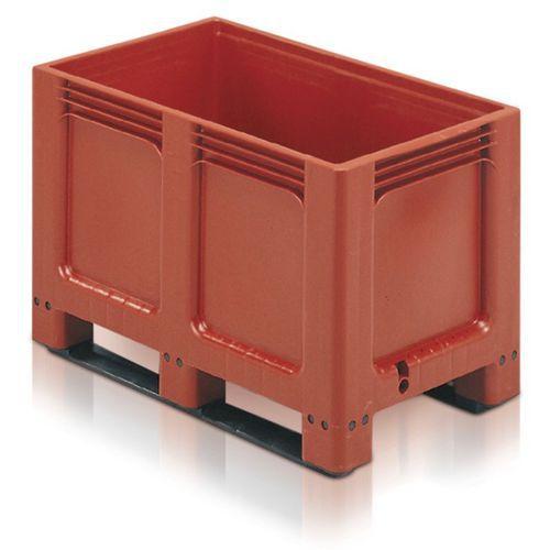 Paletový kontejner, 260 l, ližiny