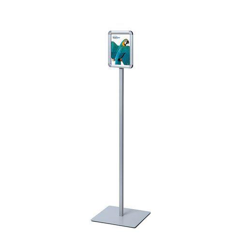 Informační stojan Visible, profil 20 mm, oblé rohy, A5