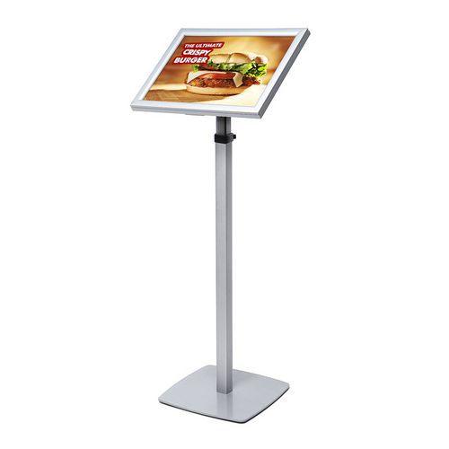 Informační stojan Menu s LED podsvícením, A3
