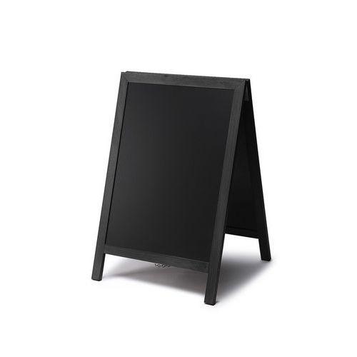 Reklamní křídová tabule A, černá, 55 x 85 cm