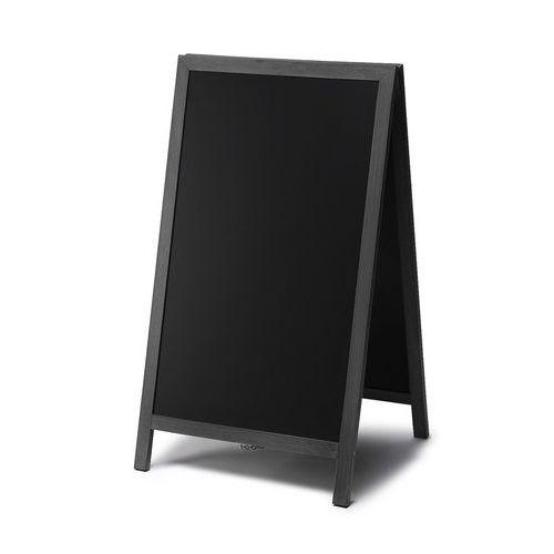 Reklamní křídová tabule A, černá, 68 x 120 cm