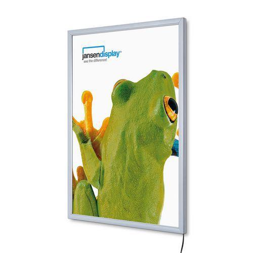Jansen Display Rám na plakáty P19 s LED osvětlením, B2 - Prodloužená záruka na 10 let