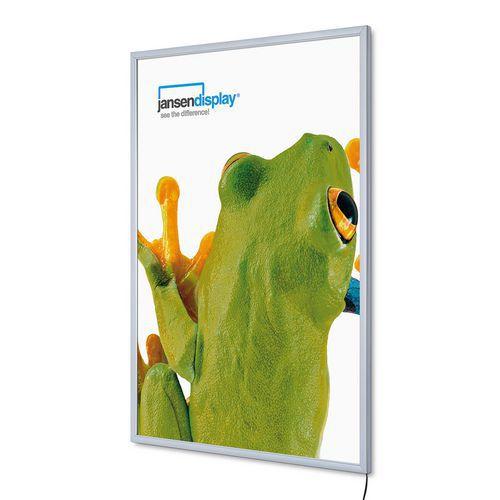 Jansen Display Rám na plakáty P19 s LED osvětlením, A0 - Prodloužená záruka na 10 let