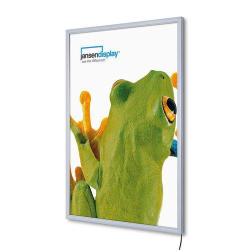 Jansen Display Rám na plakáty P19 s LED osvětlením, A1 - Prodloužená záruka na 10 let