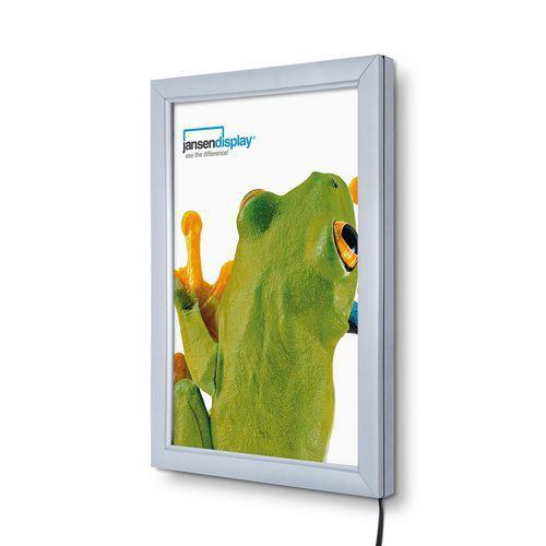 Jansen Display Rám na plakáty P19 s LED osvětlením, A4 - Prodloužená záruka na 10 let