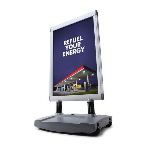 Jansen Display Reklamní stojan Windtalker Excel, B2 - Prodloužená záruka na 10 let