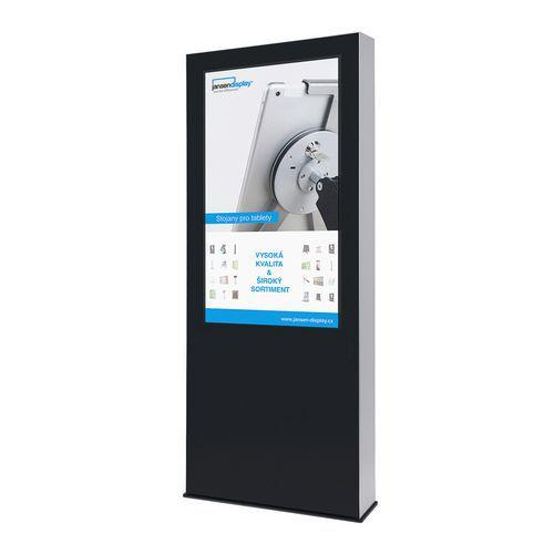 Jansen Display Digitální reklamní totem Leone, bez monitoru, 55 palců