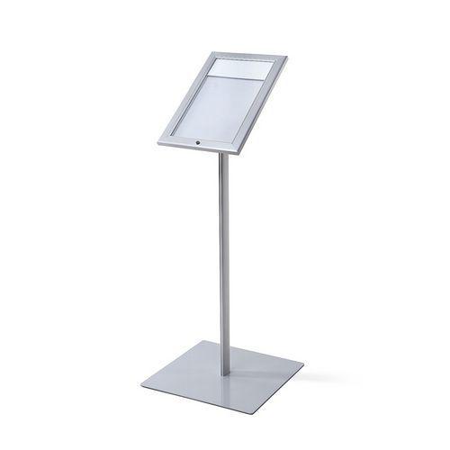 Informační stojan s vitrínou Menuboard, LED osvětlení, A4