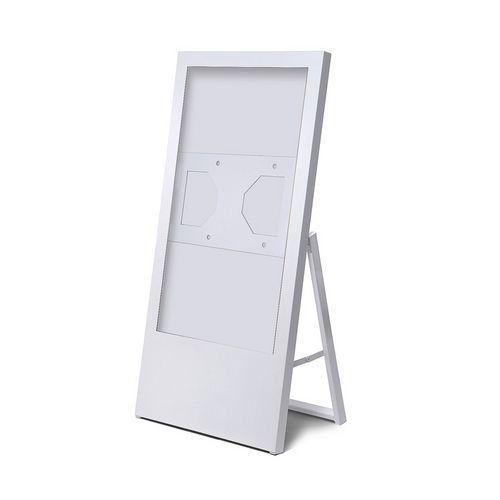 Jansen Display Áčkový digitální stojan Dilma, bez monitoru, 32 palců, bílý