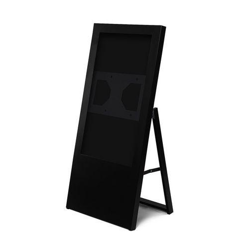 Jansen Display Áčkový digitální stojan Dilma, bez monitoru, 32 palců, černý