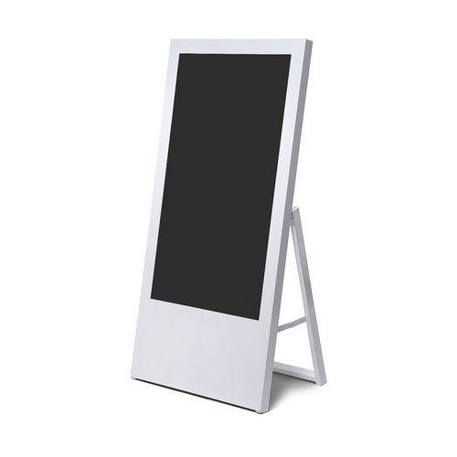 Jansen Display Áčkový digitální stojan Dilma, bez monitoru, 43 palců, bílý