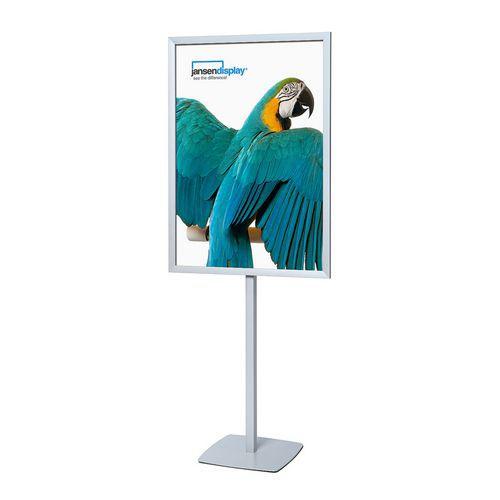 Reklamní stojan Infopole, profil 31 mm, 100 x 70 cm