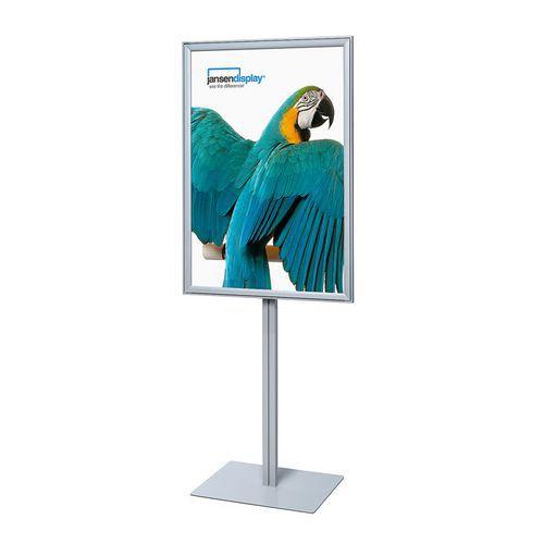Reklamní stojan Infopole, profil 37 mm, 100 x 70 cm