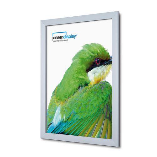 Jansen Display Rám na plakáty P31, ostré rohy, A2 - Prodloužená záruka na 10 let