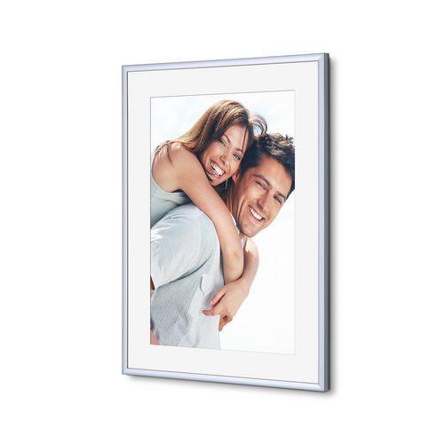 Rám na foto Scritto, šedý, 30 x 40 cm