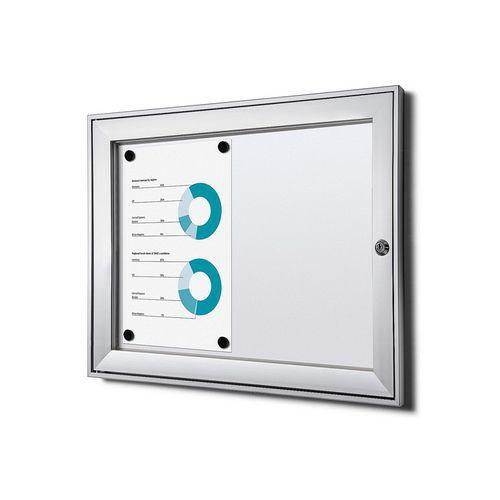 Jansen Display Magnetická vitrína Economy, 2 x A4