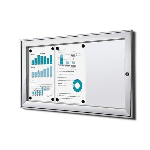 Jansen Display Magnetická vitrína Economy, 3 x A4
