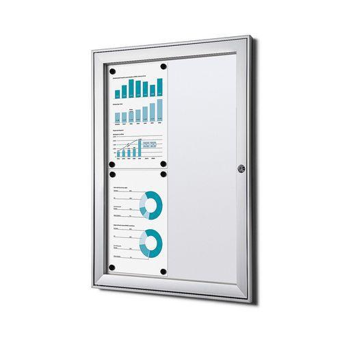 Jansen Display Magnetická vitrína Economy, 4 x A4