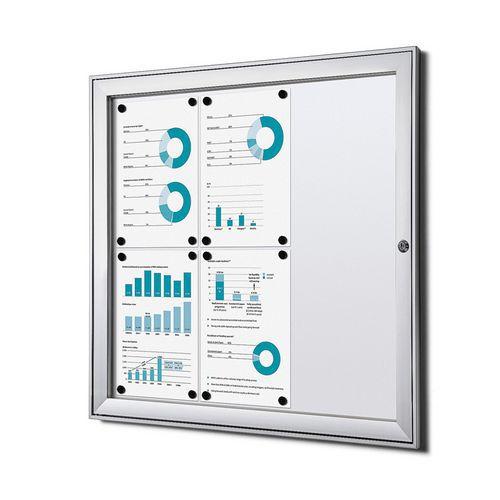 Jansen Display Magnetická vitrína Economy, 6 x A4