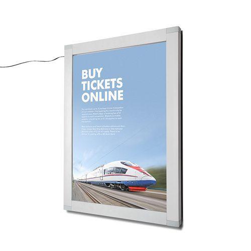 Rám na plakáty Nik s LED osvětlením, 50 x 70 cm