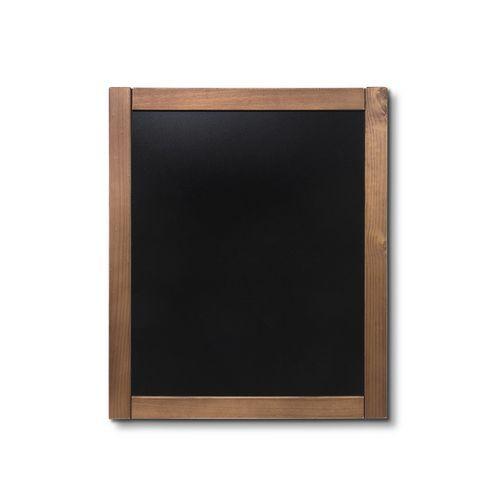 Křídová tabule Classic, teak, 50 x 60 cm