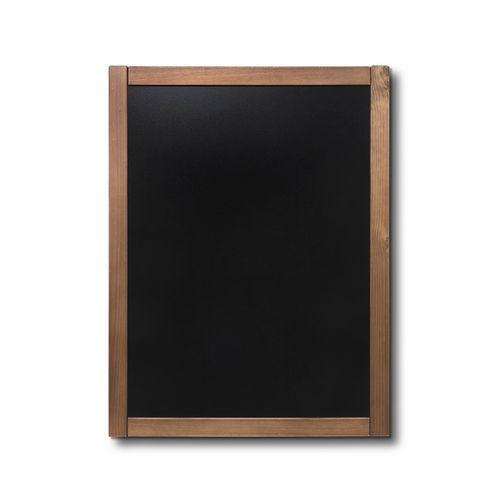 Křídová tabule Classic, teak, 60 x 80 cm