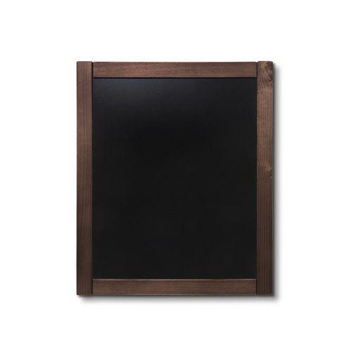 Křídová tabule Classic, tmavě hnědá, 50 x 60 cm