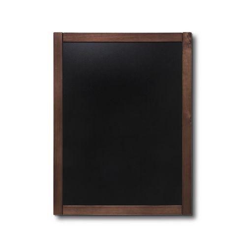 Křídová tabule Classic, tmavě hnědá, 60 x 80 cm