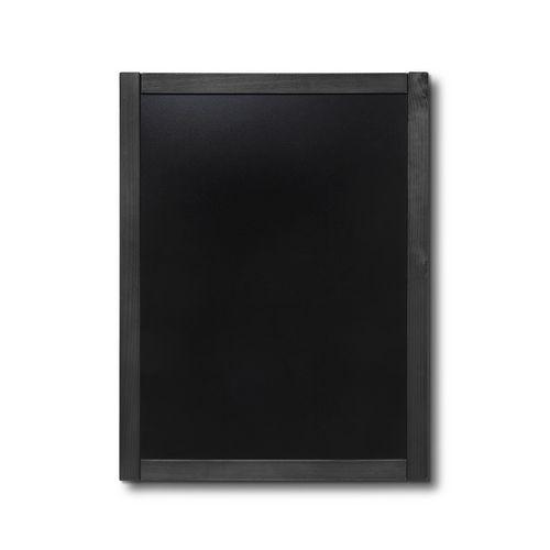 Křídová tabule Classic, černá, 60 x 80 cm