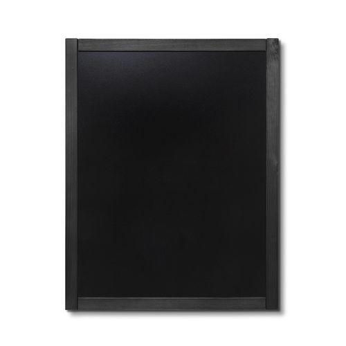 Křídová tabule Classic, černá, 70 x 90 cm