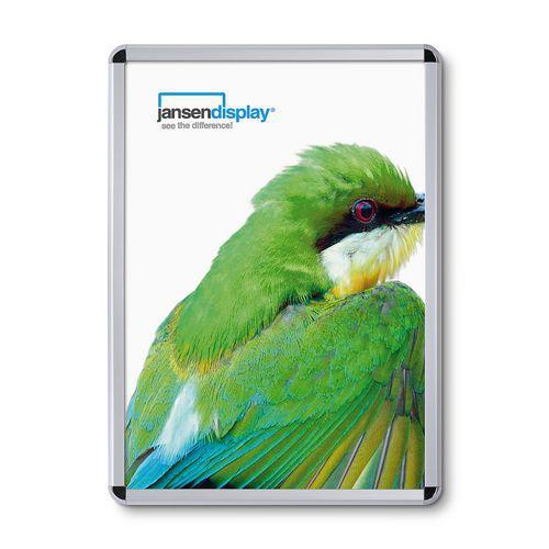Jansen Display Rám na plakáty P32, oblé rohy, A1 - Prodloužená záruka na 10 let