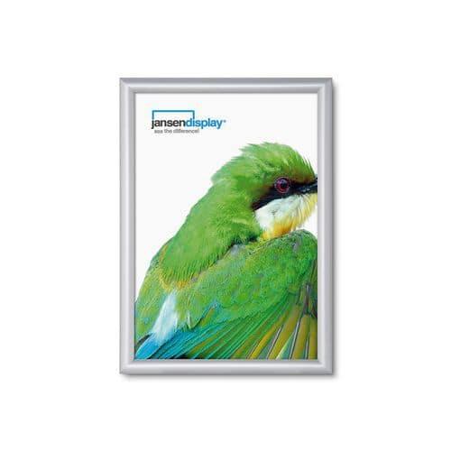 Jansen Display Rám na plakáty P15, ostré rohy, A4 - Prodloužená záruka na 10 let
