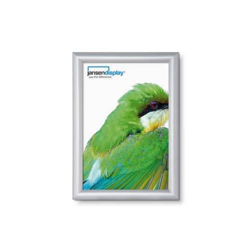 Jansen Display Rám na plakáty P15, ostré rohy, A5 - Prodloužená záruka na 10 let