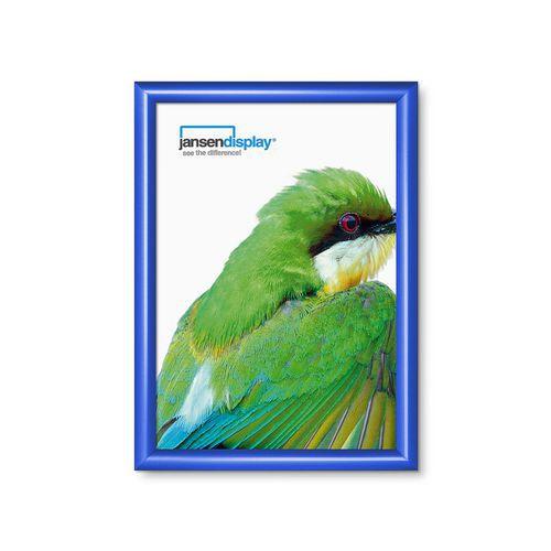Rám na plakáty P25, ostré rohy, modrý, A3 - Prodloužená záruka na 10 let