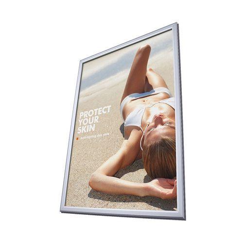 Jansen Display Rám na plakáty P32, ostré rohy, B2 - Prodloužená záruka na 10 let