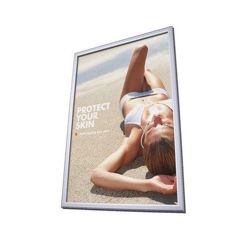 Jansen Display Rám na plakáty P25, ostré rohy, A4 - Prodloužená záruka na 10 let