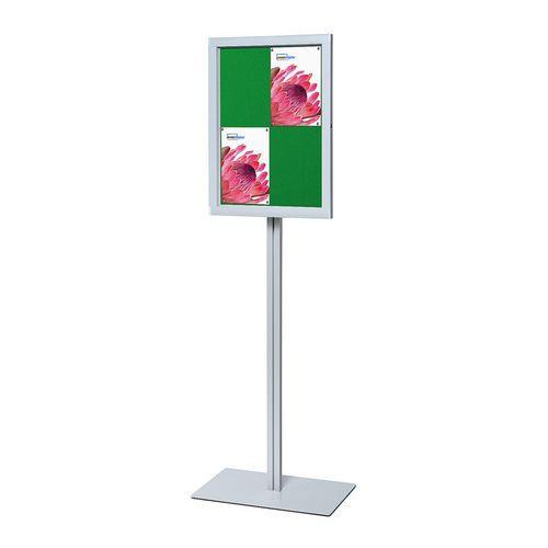 Reklamní vitrína Brillo, zelená