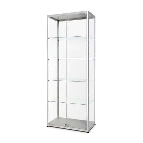Skleněná produktová vitrína Hodor