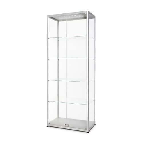 Skleněná produktová vitrína Hodor s osvětlením