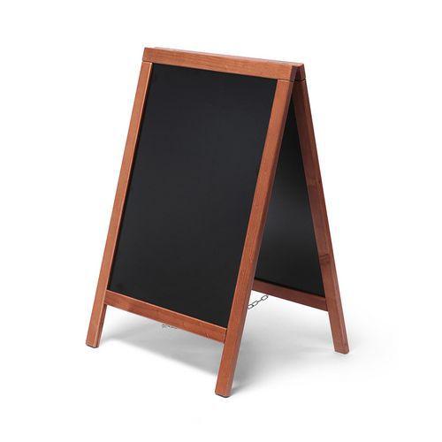 Jansen Display Reklamní křídová tabule A, světle hnědá