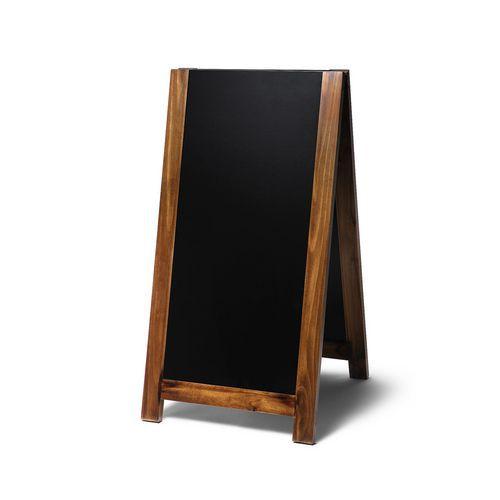 Jansen Display Reklamní křídová vysouvací tabule A, světle hnědá
