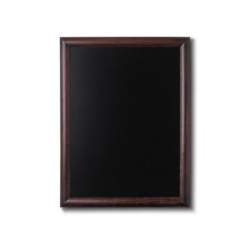 WOODBOARD 50x60 Nástěnná dřevěná křídová tabule